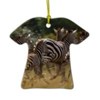 African Zebra cool stuff Ornaments
