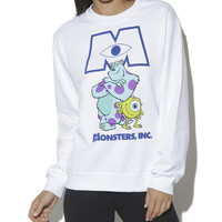 Monsters Inc. Sweatshirt - WetSeal