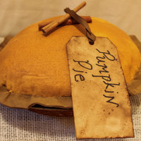 Primitive Pumpkin Pie