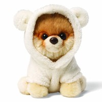 "Gund Itty Bitty Boo Bear Suit 5"" Plush"