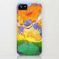 Pokemon iPhone & iPod Case by Weissidian