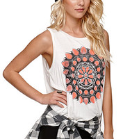 Lira Jewel Fly Back Muscle Tee at PacSun.com