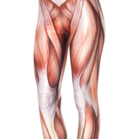 Muscles Leggings | Black Milk Clothing