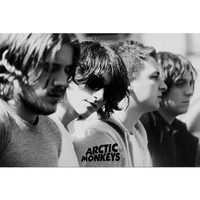 Arctic Monkeys Group Music Poster Print