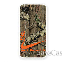 Nike Shoot It Browning - iPhone Case - iPhone 4 iPhone 4s - iphone 5 - Samsung S3 - Samsung S4