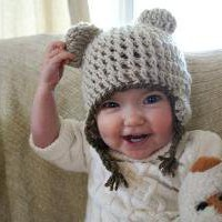 Bear Toque 2 by haleyabigail on Etsy
