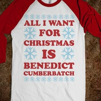 All I Want For Christmas is Benedict Cumberbatch