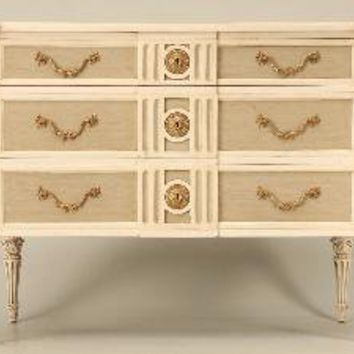 Reproduction Painted Commode