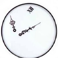 Zero Gravity Wall Clock - The Afternoon