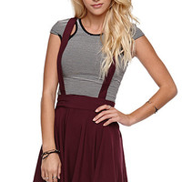 Kirra Suspender Skirt at PacSun.com