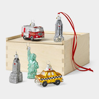 Little New York Ornament Set | MoMA