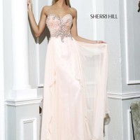Sherri Hill Prom Dresses and Sherri Hill Dresses 3895 at Peaches Boutique