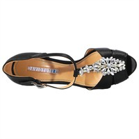David Tutera Jewel Rhinestone Platform Pump at Von Maur