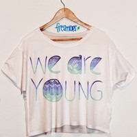 We Are Young Blue Aztec
