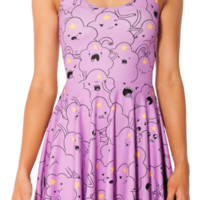 Lumpy Space Princess Reversible Skater Dress | Black Milk Clothing
