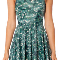 Christmas Tree Reversible Skater Dress (48HR) | Black Milk Clothing