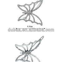 Source Beautiful Hairpins Crystal Butterfly Hair Pins,Hair Jewelry Factory Supply Hair Accessory on m.alibaba.com