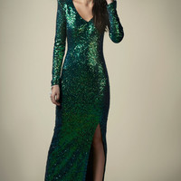 Boutique Nancy Sequin Maxi Dress