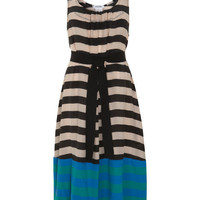 Multi Stripe Cotton And Silk Belted Dress, Sonia By Sonia Rykiel. Shop more from the Sonia By Sonia Rykiel collection at Liberty.co.uk