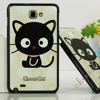 Samsung Galaxy Note 2 Case,Samsung Galaxy Note 2 Cover - Choco Cat / Cases for Samsung Galaxy Note 3, Cover for Samsung Galaxy Note 3