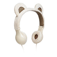 Furry Plush Headphones