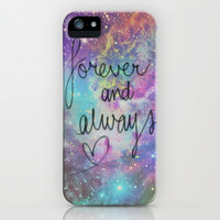 Forever and Always iPhone & iPod Case by Pink Berry Pattern