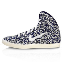 Imperial Purple Liberty Print Hyperclave High Top Trainers, Nike x Liberty. Shop the latest Nike collection at Liberty.co.uk