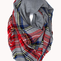 Classic Plaid Square Scarf