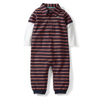 Jersey Striped Jumpsuit