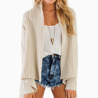 Lovely Cassandra Wrap Cardigan - TOBI