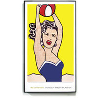 MoMA Store - Lichtenstein: Girl with a Beach Ball