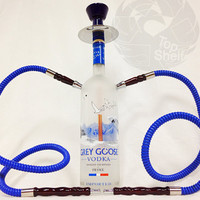 Top Shelf Hookah Custom Grey Goose two hoses version 1.0