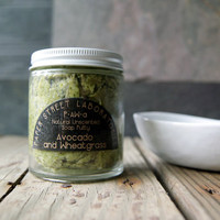 P.AW: Avocado Wheatgrass Whipped Soap Putty Unscented