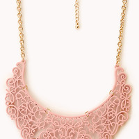 Regal Filigree Bib Necklace