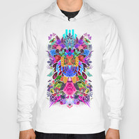 Flower Explosion  Hoody by Luke Dorman