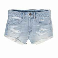 AE HI-RISE DENIM SHORTIE