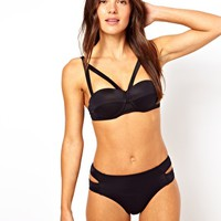 River Island Strappy Tennesse Balconette Bikini Top