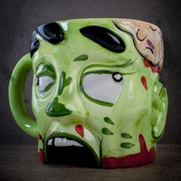 Zombie Head Mug at Firebox.com