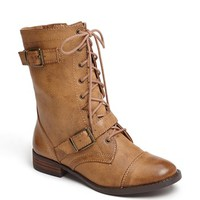 Sole Society 'Nessie' Lace-Up Bootie | Nordstrom