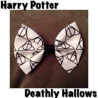 Harry Potter Deathly Hallows Hairbow