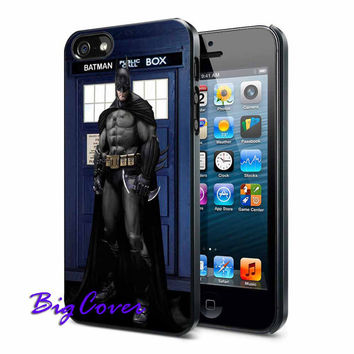 Batman Public Call Box - iPhone Case - iPhone 4 iPhone 4s - iphone 5 - Samsung S3 - Samsung S4