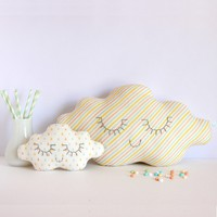 ZÜ - Children's room decoration - Cloud Cushion Rainbow