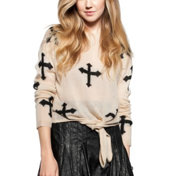 Cowgirl Cross Sweater