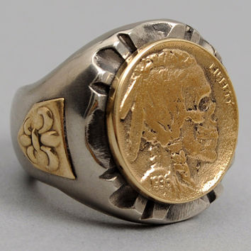 fine light trading - hobo nickel ring