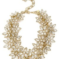 LEE ANGEL JEWELRY - Multi Flower Statement Necklace