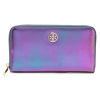 Robinson Iridescent Zip Wallet