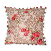 THRO Panji Paisley Flower Pillow