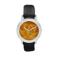 Pretty Orange Rose Watch