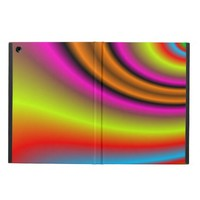 Trendy colorful line iPad air covers