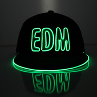 EDM light up snapback - Electric Styles #glow #highfashion #men #women #christmas